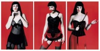 Marc Lagrange | Betty Page Trilogy (triptych) | Photograph available for sale on www.kunzt.gallery