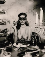 Marc LAGRANGE | Lobster Dinner | Mixed Media available for sale on www.kunzt.gallery