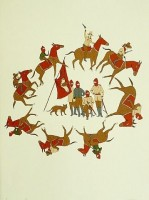 Marcel Dzama | Ceremonies of the Horsemen | undefined available for sale on www.kunzt.gallery