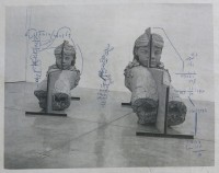 Mark MANDERS | Man-size Calculation Casting Shadow | Mixed Media available for sale on www.kunzt.gallery