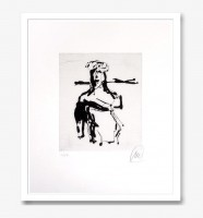 Markus Lupertz | ohne titel | Etching available for sale on www.kunzt.gallery