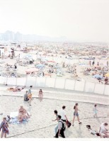 Massimo VITALI | Knokke Beach III | Lithograph available for sale on www.kunzt.gallery