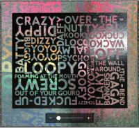 Mel BOCHNER | Crazy (with Background Noise) | Silkscreen available for sale on www.kunzt.gallery
