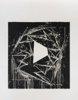 Mel BOCHNER | White Island | Aquatint available for sale on www.kunzt.gallery