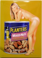 Mel RAMOS | Mixed Nuts | Metal available for sale on www.kunzt.gallery