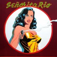 Mel Ramos | Senorita Rio | Lithograph available for sale on www.kunzt.gallery