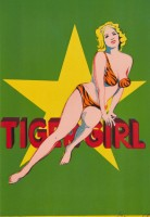 Mel Ramos | Tiger Girl | Lithograph available for sale on www.kunzt.gallery