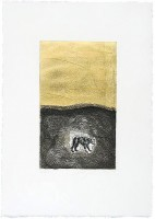 Mimmo PALADINO | Dog | Aquatint available for sale on www.kunzt.gallery