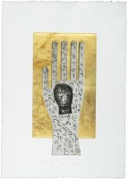 Mimmo PALADINO | Hand | Aquatint available for sale on www.kunzt.gallery