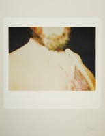 Nam June PAIK | Untitled (Prof.Graubner) | Silkscreen available for sale on www.kunzt.gallery