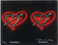 Nelson LEIRNER | Sotheby's V | Mixed Media available for sale on www.kunzt.gallery