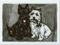 Peter Doig | Double Dog | undefined available for sale on www.kunzt.gallery