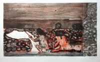 Peter Doig | Painting a Cloud on a Wall | Etching available for sale on www.kunzt.gallery