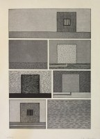 Peter HALLEY | Untitled (from the BAM III Portfolio) | Lithograph available for sale on www.kunzt.gallery