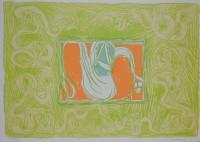 Pierre Alechinsky | Shrimp and Salad (Crevette et salade) | undefined available for sale on www.kunzt.gallery