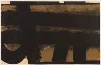 Pierre SOULAGES | Lithographie 35 | Lithograph available for sale on www.kunzt.gallery