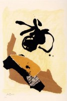 Robert MOTHERWELL | 12th. Anniversary | Lithograph available for sale on www.kunzt.gallery