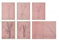 Rose WYLIE | CFF Nicole Kidman | Etching available for sale on www.kunzt.gallery