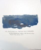 Raymond Pettibon | Yes, but Alas | Silkscreen available for sale on www.kunzt.gallery