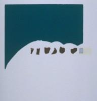 Richard TUTTLE | Grouse | Linocut available for sale on www.kunzt.gallery
