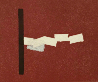 Richard TUTTLE | Pig | Linocut available for sale on www.kunzt.gallery