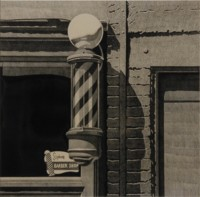 Robert COTTINGHAM | Barber Shop | Lithograph available for sale on www.kunzt.gallery