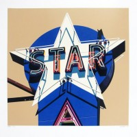 Robert COTTINGHAM | Star | Silkscreen available for sale on www.kunzt.gallery