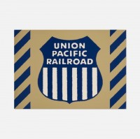 Robert COTTINGHAM | Union Pacific Railraod | Mixed Media available for sale on www.kunzt.gallery