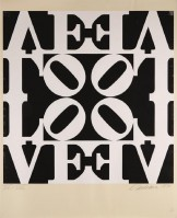 Robert INDIANA | Decade III | Serigraph available for sale on www.kunzt.gallery