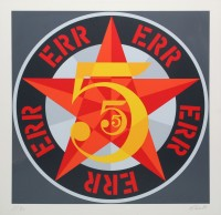Robert INDIANA | Err (from The American dream No. 5) | Serigraph available for sale on www.kunzt.gallery