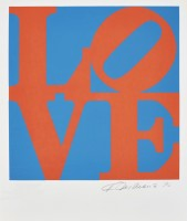 Robert Indiana | Love #1 (from the Book of Love) | undefined available for sale on www.kunzt.gallery