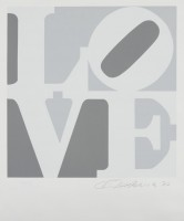 Robert INDIANA | Love #2 (from the Book of Love) | Screen-print available for sale on www.kunzt.gallery