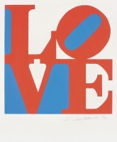Robert INDIANA | Love #3 (from the Book of Love) | Screen-print available for sale on www.kunzt.gallery