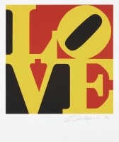 Robert INDIANA | Love #6 (from the Book of Love) | Screen-print available for sale on www.kunzt.gallery