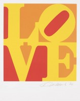 Robert Indiana | Love #7 (from the Book of Love) | undefined available for sale on www.kunzt.gallery