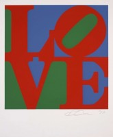 Robert INDIANA | Love (Classic) | Silkscreen available for sale on www.kunzt.gallery