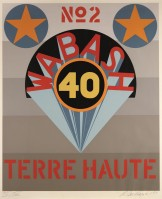 Robert Indiana | Decade II (Terre Haute) | undefined available for sale on www.kunzt.gallery