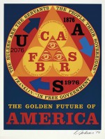 Robert Indiana | Golden age of the future | undefined available for sale on www.kunzt.gallery