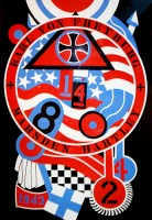 Robert Indiana | The Hartley Elegies: The Berlin Series- KvF II | Serigraph available for sale on www.kunzt.gallery