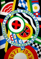 Robert Indiana | The Hartley Elegies: The Berlin Series- KvF IV | Serigraph available for sale on www.kunzt.gallery