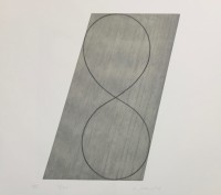 Robert Mangold | #8 from Attic Series II | Etching and Aquatint available for sale on www.kunzt.gallery