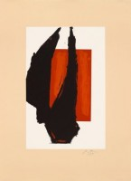 Robert MOTHERWELL | Art 1981 Chicago Print | Lithograph available for sale on www.kunzt.gallery