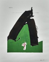 Robert MOTHERWELL | Basque series | Serigraph available for sale on www.kunzt.gallery
