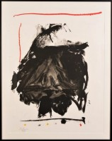 Robert Motherwell | Black Rumble | Lithograph available for sale on www.kunzt.gallery