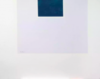 Robert MOTHERWELL | Untitled (Blue/Pale Blue) from London Series II | Serigraph available for sale on www.kunzt.gallery