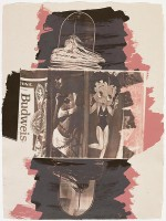 Robert RAUSCHENBERG | Hollywood Sphinx, from Illegal Tender L.A. | Lithograph available for sale on www.kunzt.gallery