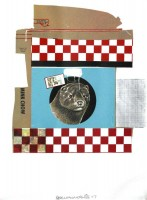 Robert RAUSCHENBERG | Mink Chow (Chow Bag) | Serigraph available for sale on www.kunzt.gallery