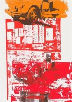 Robert RAUSCHENBERG | Read Bleed | Screen-print available for sale on www.kunzt.gallery