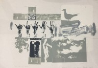 Robert Rauschenberg | Romances (Prophecy) | Lithograph available for sale on www.kunzt.gallery