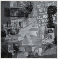 Robert Rauschenberg | Surface Series from Currents | Silkscreen available for sale on www.kunzt.gallery